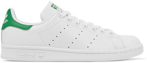 adidas Stan Smith Leather Sneakers - White