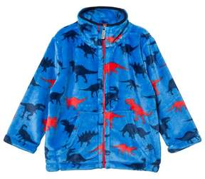 Hatley Blue Dinosaur Print Fleece