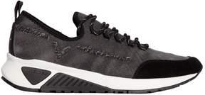 Diesel Distressed Denim Running Sneakers