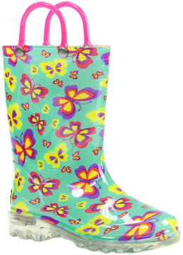 Western Chief Flutter Fierce Lighted Rain Boot