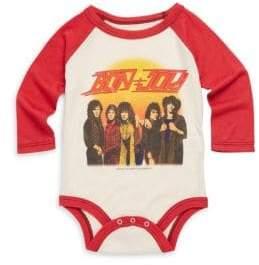 Rowdy Sprout Baby's Bon Jovi Cotton Bodysuit