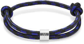 Fossil Vintage Casual Blue Paracord Bracelet
