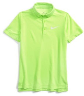 Boy's Nike Dry Polo Shirt