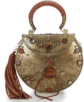 Sam Edelman Silvia Metal Circle Mini Cross-Body Bag