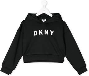 DKNY logo hoodie