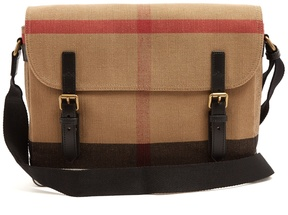 Burberry Checked canvas cross-body bag