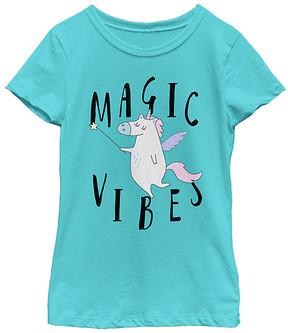Fifth Sun Tahi Blue 'Magic Vibes' Tee - Girls