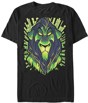 Fifth Sun Black Scar Be Prepared Lion King Tee - Men