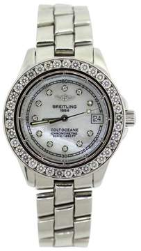 Breitling Colt Oceane Stainless Steel & 2.9ct Diamond Womens Watch