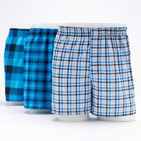 Hanes Men's 3-Pack Boxers