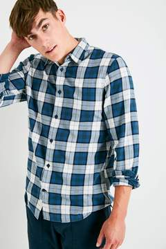 Jack Wills Salcombe Flannel Plaid Shirt