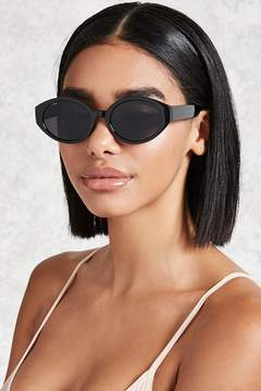 FOREVER 21 Small Oval Sunglasses