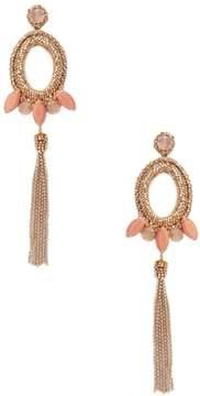 Deepa Gurnani Women's Beaded & Drop Chain Statement Earrings