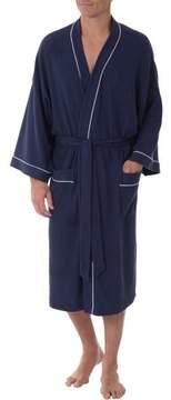 Fruit of the Loom Big Men's Knit Waffle Robe, Size 2XL/3XL
