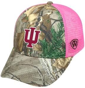 Top of the World Adult Indiana Hoosiers Sneak Realtree Snapback Cap