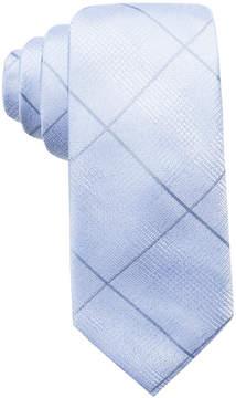 Ryan Seacrest Distinction Men's Sorrento Tonal Grid Silk Slim Tie, Created for Macy's
