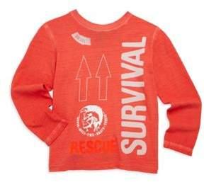 Diesel Toddler & Little Boy's Temak Survival Sweatshirt