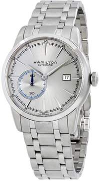 Hamilton Railroad Automatic Silver Grey Dial Stainless Steel Men's Watch