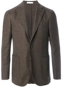 Boglioli tweed two-button blazer