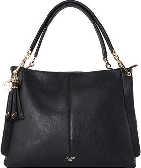 Dune Disobelle slouch faux-leather shoulder bag