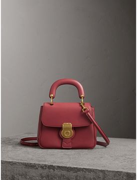 Burberry The Small DK88 Top Handle Bag - ANTIQUE RED - STYLE