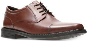 Bostonian Men's Wenham Black Leather Dress Cap-Toe Oxfords Men's Shoes
