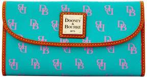 Dooney & Bourke Gretta Continental Clutch Wallet - SPEARMINT LAVENDER - STYLE