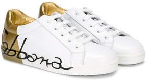 Dolce & Gabbana contrast upper logo sneakers