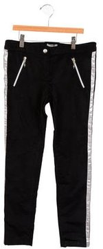 Junior Gaultier Girls' Velvet Pants