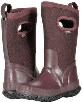 Bogs Crandall Wool Girls Shoes