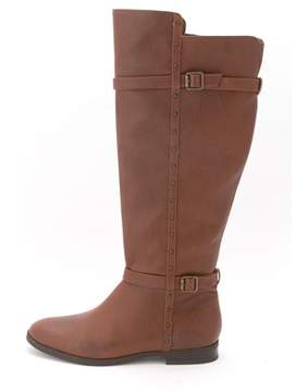 INC International Concepts Women's Ameliee Wide Calf Knee High Riding Boot.
