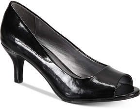 Karen Scott Mory Peep-Toe Pumps, Created for Macy's Women's Shoes