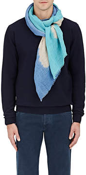 Barneys New York MEN'S DIP-DYED LINEN SCARF