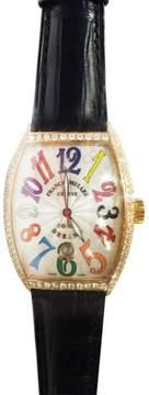 Franck Muller Frank Muller Color Dreams 7851 Yellow Gold 35.5mm Watch