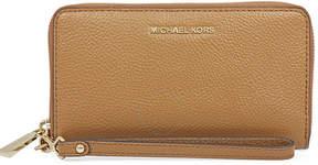 Michael Kors Mercer Large Flat Mercer Wristlet- Acorn