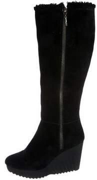 Diane von Furstenberg Suede Knee Boots