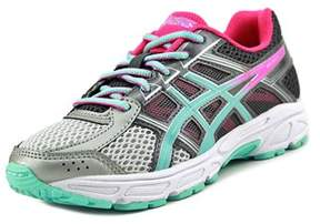 Asics Gel-contend 4 Gs Youth Round Toe Synthetic Gray Running Shoe.