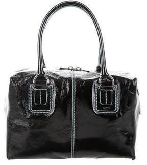 Tod's Small Patent Leather Satchel