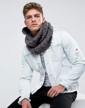 French Connection Cable Infinity scarf