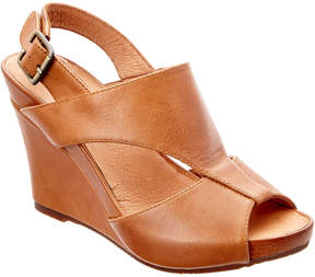 Chocolat Blu Collins Leather Wedge Sandal
