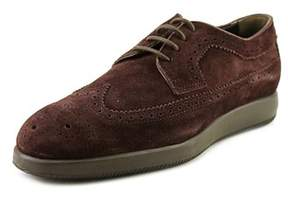Hogan H209 Dress X Rest. Derby Bucat Round Toe Leather Oxford.