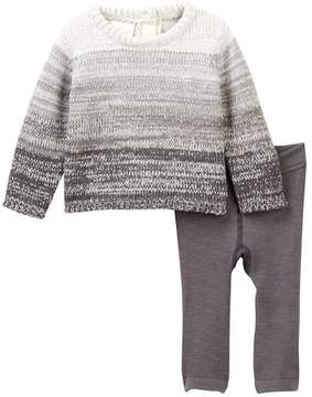 Cuddl Duds Ombre Sweater & Pants Set (Baby Boys)