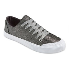 Mossimo Women's June Glitter Sneakers Silver