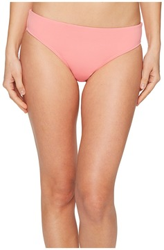 Letarte Solid Full Coverage Bikini Bottom Women's Swimwear