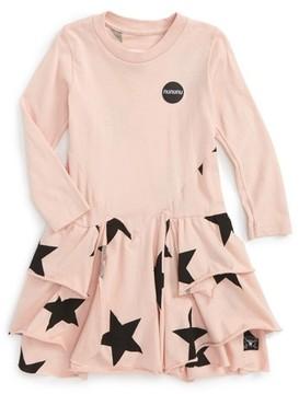 Nununu Infant Girl's Layered Star Dress