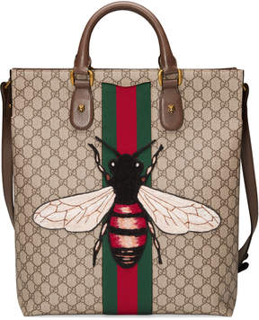 Web Animalier GG Supreme tote with bee