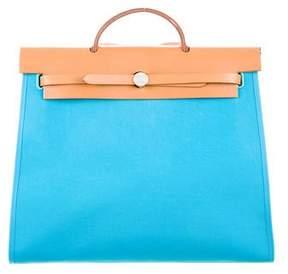 Hermes Herbag Zip 39 - BLUE - STYLE