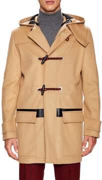 Christian Dior Men's Solid Duffle Coat