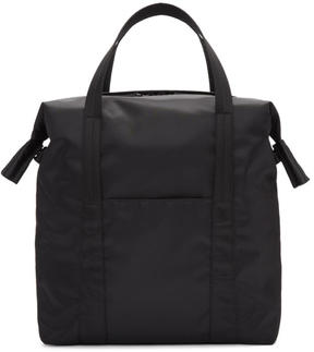 Maison Margiela Black Nylon Tote Bag