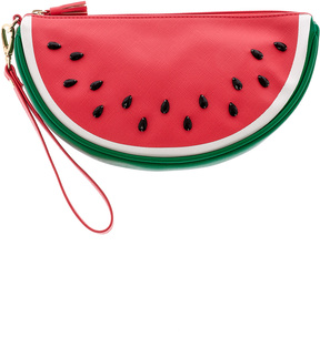 Shiraleah Fun Watermelon Wristlet
